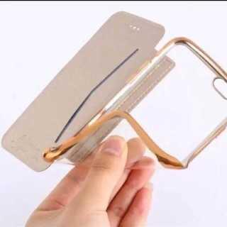 クリア手帳型ケース iPhone機種豊富 手帳型