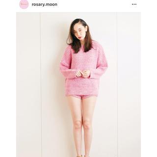 ロザリームーン(Rosary moon)の週末売り切り❗️ロザリームーン❤️メランジニット(ニット/セーター)