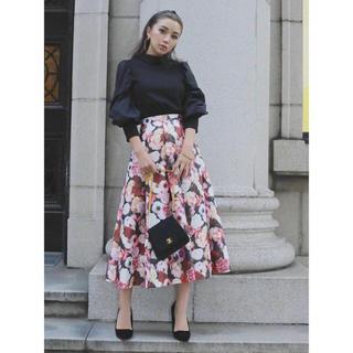 eimy istoire - 本日限定値下げ✨ Glossy flower スカート