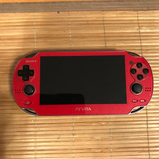 PlayStation Vita - PS vita  レッド