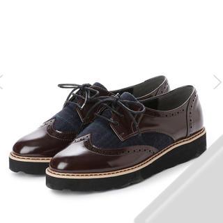 新品★enchanted★ウイングチップレースアップシューズ★LL(ローファー/革靴)