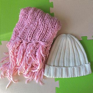 リズリサ(LIZ LISA)のTRALALA マフラー☆LIS LISA 帽子(マフラー/ショール)