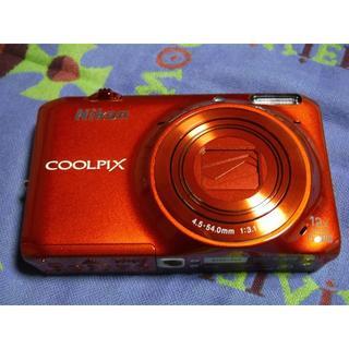 ニコン(Nikon)のnikon coolpix S6500 オレンジ(コンパクトデジタルカメラ)