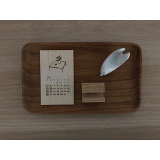木 テーブルカレンダー 2020