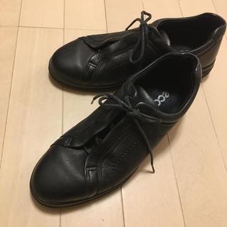 ecco シューズ 24.5cm(ローファー/革靴)