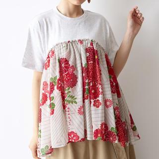 ふりふ - ★新品★ふりふ 半袖シャツ 花柄