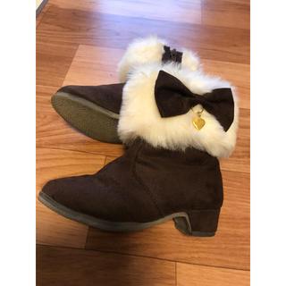 エニィファム(anyFAM)のany FAMの子供用ブーツ 17センチ(ブーツ)