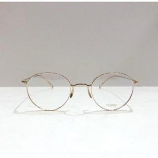 アヤメ(Ayame)のayame アヤメ MANRAY マンレイ美品ホワイトゴールド ポーカーフェイス(サングラス/メガネ)