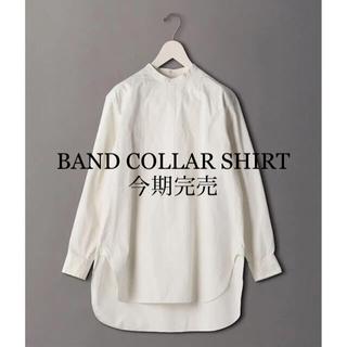 BEAUTY&YOUTH UNITED ARROWS - <6(ROKU)>BAND COLLAR SHIRT/シャツ