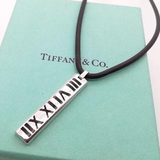 Tiffany & Co. - 希少 美品 ティファニー サーファー アトラス ネックレス AZ42