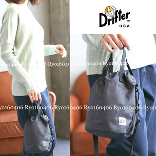 DEUXIEME CLASSE - 19AW⭐️新品⭐️ドリフター/2way ドローストリングポーチ 巾着バッグ