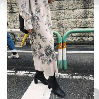 Ameri VINTAGE - アメリ ヴィンテージ REHEMA KEY NECK DRESS