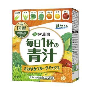 伊藤園 - 伊藤園 毎日1杯の青汁 粉末タイプ(フルーツミックス) 5.0g×20包 ×4個
