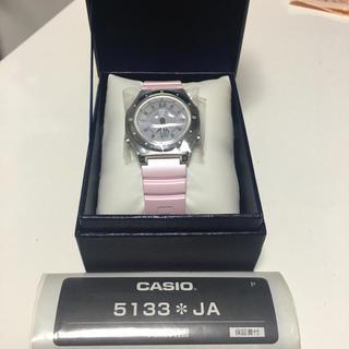 カシオ(CASIO)のカシオ 腕時計  ウェーブセプター  電波ソーラーウォッチ LWA-M142(腕時計)