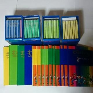 ディズニー(Disney)のDWE メインプログラムCD36枚とBook10冊と、マザーズガイド4冊(CDブック)
