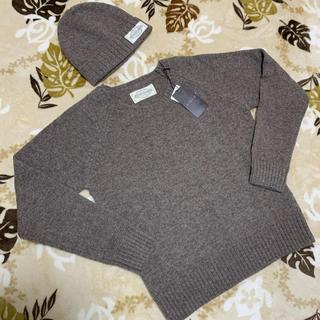 ゴア(goa)のgoa 〓ゴア〓新品シェットランド帽子付きプルオーバー(ニット/セーター)