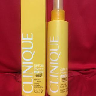 クリニーク(CLINIQUE)の新品未使用CLINIQUEボディ用日焼け止めミスト(日焼け止め/サンオイル)