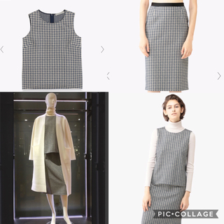 Theory luxe - theory luxe セットアップ ブラウス スカート 18AW
