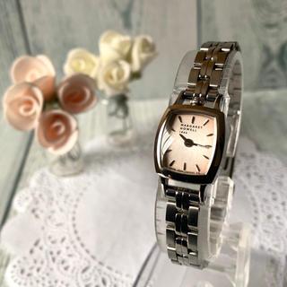 マーガレットハウエル(MARGARET HOWELL)の【電池交換済】MARGARET HOWELL idea 腕時計 トノー シルバー(腕時計)
