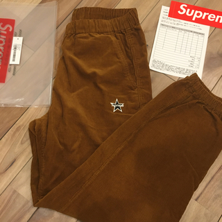 Supreme - 【Sサイズ】 Supreme Corduroy Skate Pant Brown