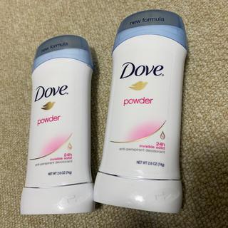 Unilever - 【新品 未使用】ダヴ デオドラントパウダー 2個セット
