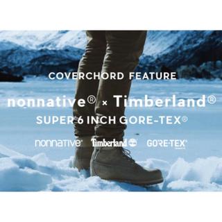ノンネイティブ(nonnative)の【限定】【nonnative × Timberland】6inch ブーツ(ブーツ)