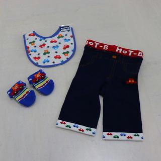 ホットビスケッツ(HOT BISCUITS)のミキハウス mikihouse ベビー服(パンツ/スパッツ)