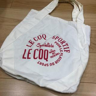 ルコックスポルティフ(le coq sportif)のルコックスポルティフ 帆布トートバッグ le Coq 名古屋グランパス(トートバッグ)