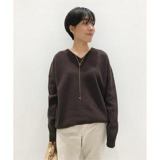 L'Appartement DEUXIEME CLASSE - Middle gauge V/N KNIT ブラウン L'Appartement