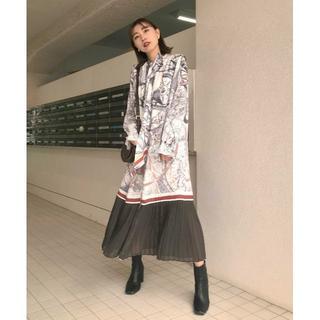 アメリヴィンテージ(Ameri VINTAGE)のM☆完売品 AMERI UNDRESSED CRUISE SCARF DRESS(ロングワンピース/マキシワンピース)