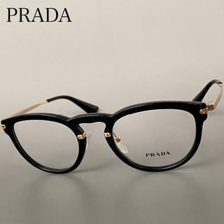 PRADA - 【新品】◆PRADA◆VPR02V◆プラダ ゴールド ブラック ボストン メガネ
