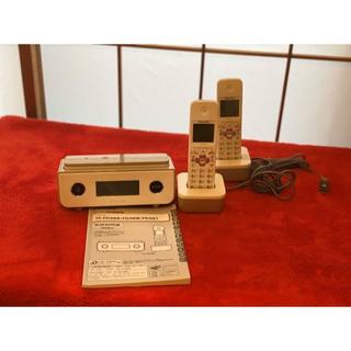 パイオニア(Pioneer)のPioneer コードレス留守番電話機☆子機 2台付き!!!(その他)