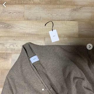 サンシー(SUNSEA)のstein19AW lay deep v-neck knit(ニット/セーター)