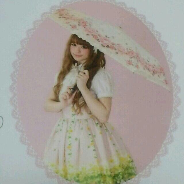 Innocent World(イノセントワールド)の晴雨兼用 折り畳み傘 レディースのファッション小物(傘)の商品写真