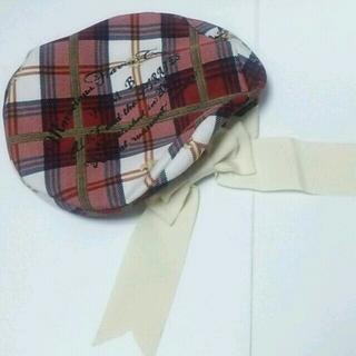 アリスアンドザパイレーツ(ALICE and the PIRATES)のtea package柄 ベレー帽(ハンチング/ベレー帽)