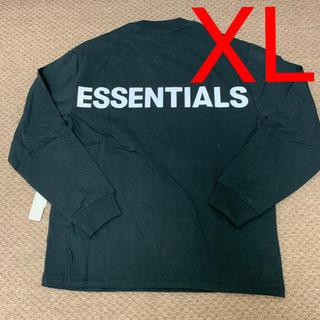 フィアオブゴッド(FEAR OF GOD)のXL Fear Of God Essentials Long sleeve 黒(Tシャツ/カットソー(七分/長袖))
