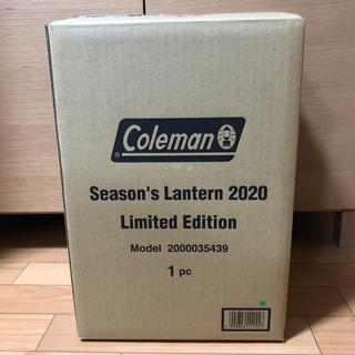 コールマン(Coleman)のColeman シーズンズランタン2020 コールマン ランタン 新品未開封(ライト/ランタン)