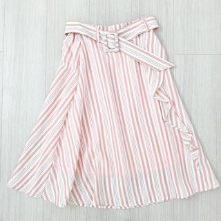 tocco - tocco closet♡ベルト付きフレアスカート