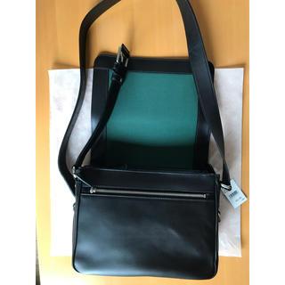 ソメスサドル ショルダーカバン 鞄 黒 ショルダーバッグ