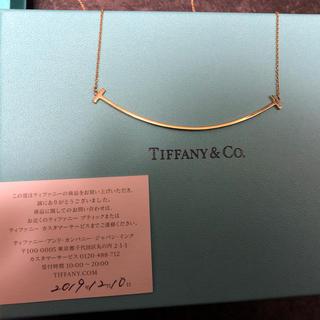Tiffany & Co. - ティファニー Tiffany Tスマイル ラージ  k18