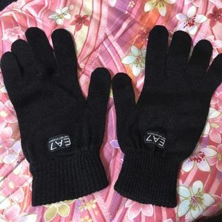 エンポリオアルマーニ(Emporio Armani)の手袋 グローブ アルマーニ EA7 Mサイズ ブラック(手袋)