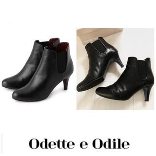 Odette e Odile - Odette e Odile UNITED ARROWSサイドゴアショートブーツ