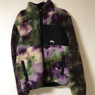 STUSSY Reversible Micro Fleece Jacket