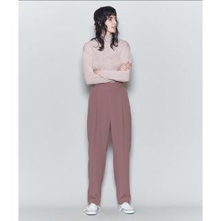 6(ROKU)GEORGETTE TUCK PANTS/パンツ