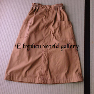 E hyphen world gallery - カーゴスカート