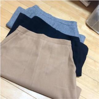 イエナスローブ(IENA SLOBE)のSLOBE IENA 3色セット ウール Aライン スカート(ひざ丈スカート)