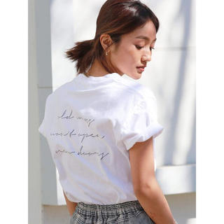 Ungrid - Ungrid★メッセージロゴTee Tシャツ★
