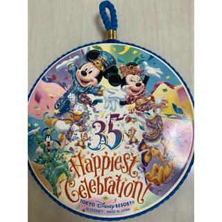 ディズニー(Disney)のディズニー 35周年 鍋敷き(キッチン小物)