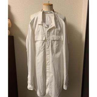 リックオウエンス(Rick Owens)のリックオウエンス  アイランドシャツ  46(シャツ)