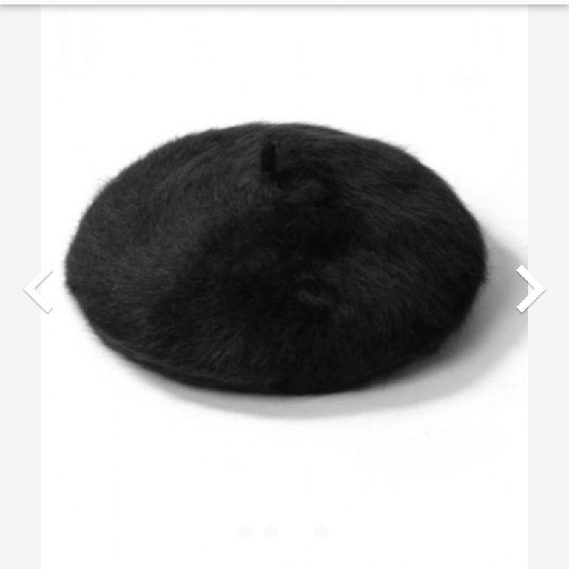GRL(グレイル)の【新品未使用】アンゴラベレー帽 レディースの帽子(ハンチング/ベレー帽)の商品写真